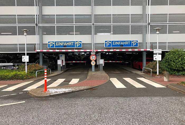 Hamburg Airport P8-9 Parkhaus Shuttle | Holiday Extras