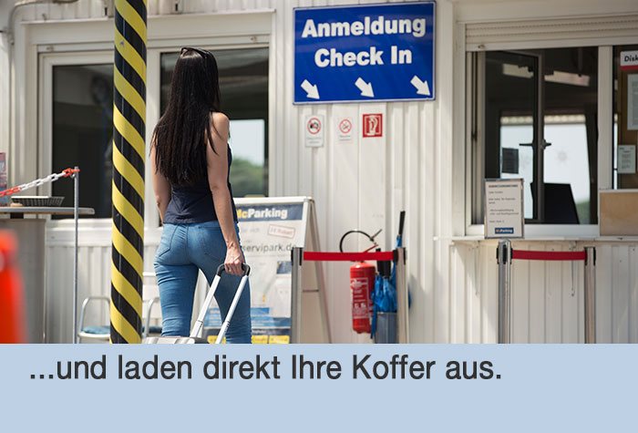 Anfahrt mcparking p1 parkplatz tegel online bei holiday for Tegel flughafen anfahrt