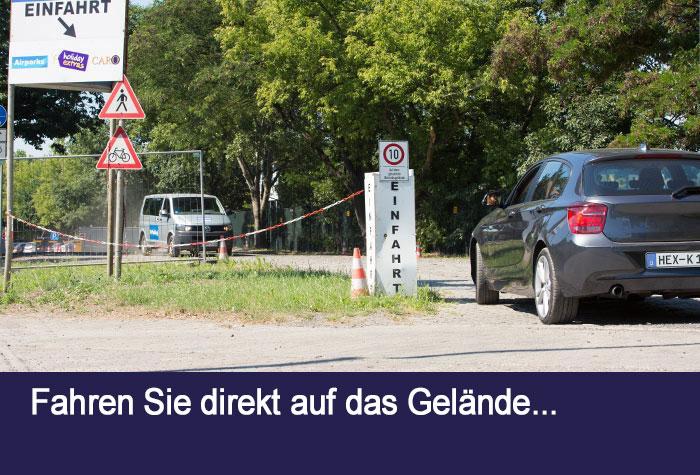 Airparks parkplatz tegel 24h transfer inkl holiday extras for Tegel flughafen anfahrt