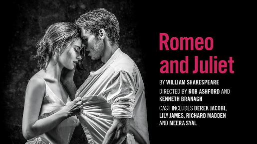 Romeo And Juliet Theatre Breaks Poster