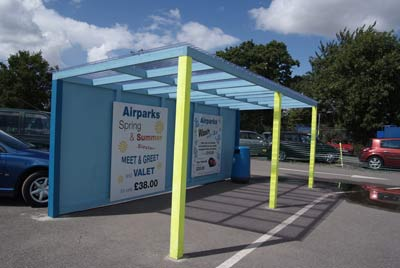 Luton Airparks Express Bus Stop