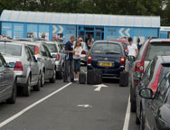 Luton Airparks Parking Arrival Bays