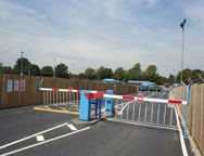 Luton Airparks Parking Entry Barrier
