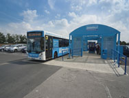 Luton Airparks Parking Transfer Bus