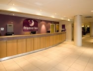 Manchester Premier Inn Hotel Reception