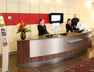 Newcastle Novotel Hotel Reception