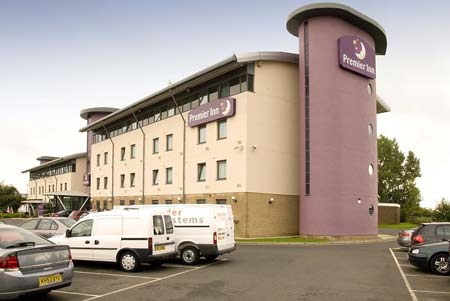 Newcastle Premier Inn Hotel Carpark