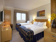 Stansted Hilton Hotel Family Room